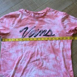 f2bb752760395b Vans Tops - VANS OTW Tie Dye Pink Logo T-Shirt Sz M